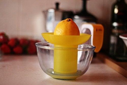 Usos del zumo de limón