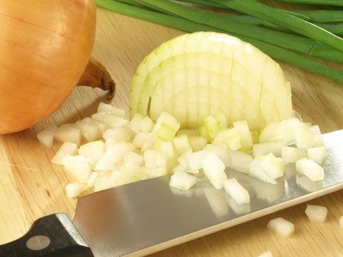 Cebolla para reducir la fiebre
