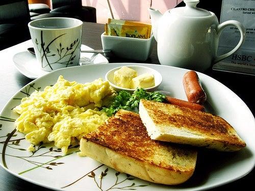 Desayunar bien te ayuda a tener energía