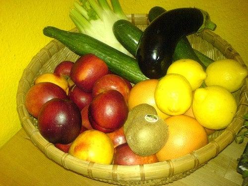 La importancia del color de las frutas y vegetales