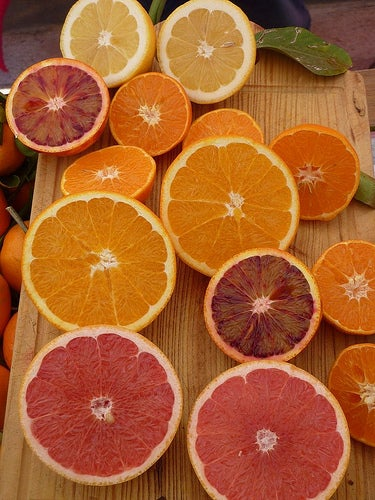 Cítricos con vitamina C