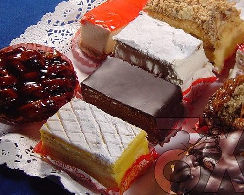 Se deben de evitar alimentos de pastelería.