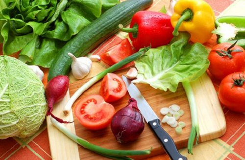 darle mejor sabor a los vegetales
