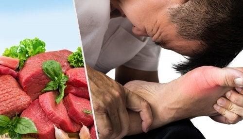 Alimentos recomendados y no recomendados para el ácido úrico