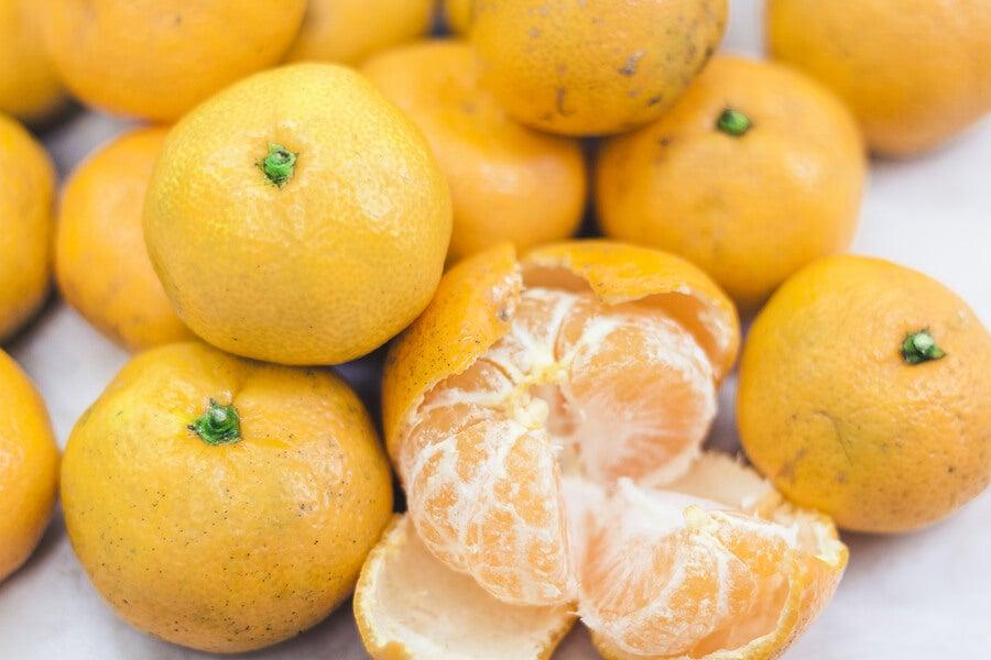 mandarinas amarillas