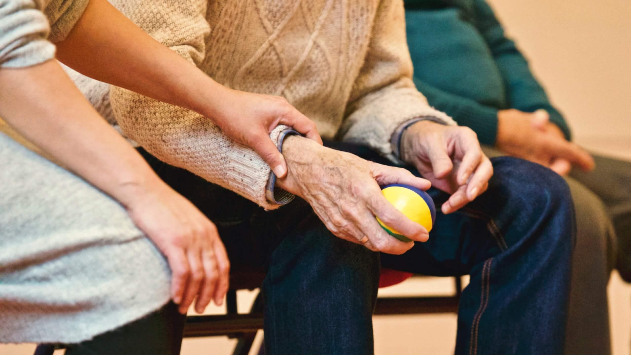 Personas con Parkinson.