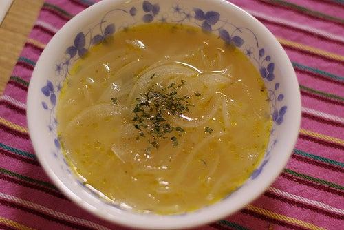 Sopa de cebolla y ajo