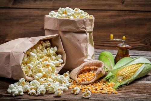 Beneficios de las palomitas de maíz