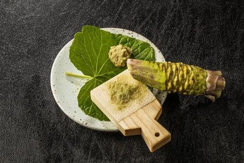 Beneficios del wasabi para nuestra salud