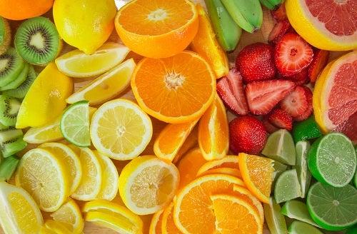 Los cítricos son un importante fuente natural de Vitamina C