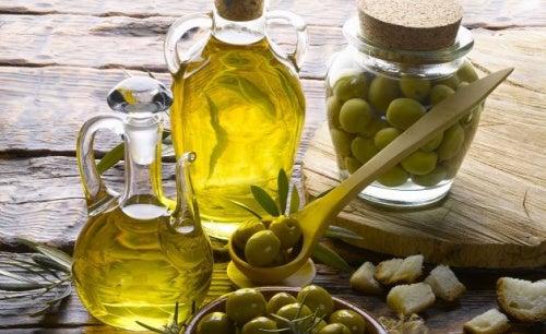 Aceite de oliva para nutrir el pelo e hidratarlo
