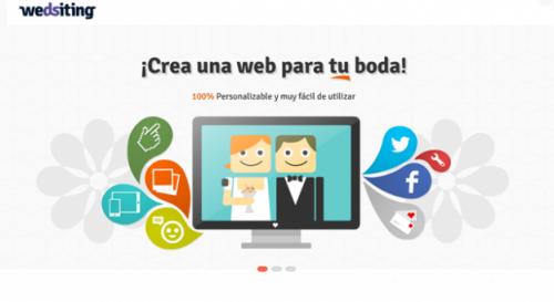 Crea una web para tu boda del siglo XXI.