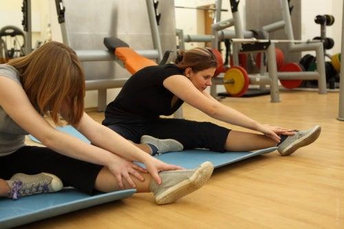 Estiramento para dolor en los músculos