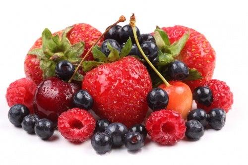 Frutos rojos para tratar los síntomas de la artritis