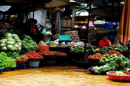 Mercado-vegetales