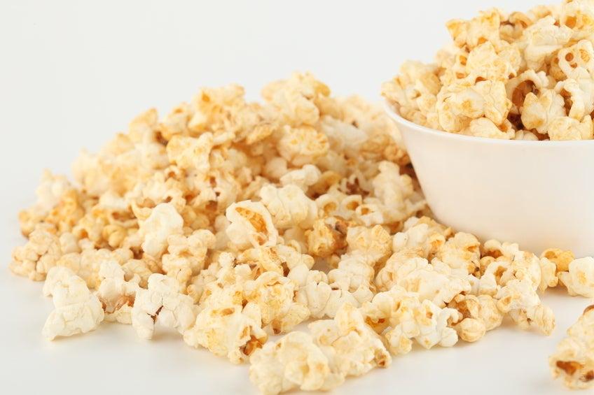 Las palomitas de maíz son muy saludables además de deliciosas.