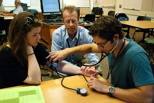 Medición de presión arterial baja