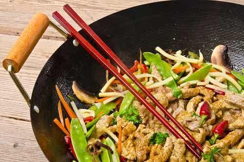 El wok, una manera saludable y rápida de cocinar