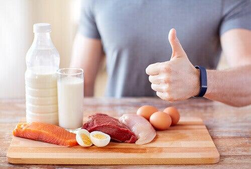 Variedad de proteínas