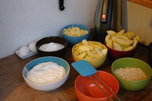Ingredientes para hacer avena