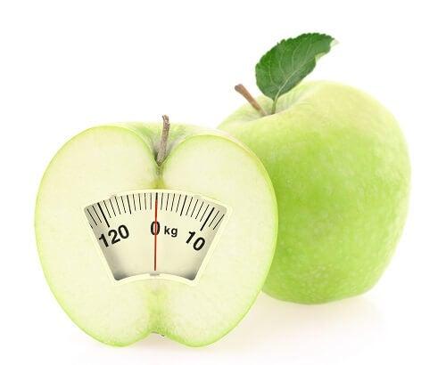 Manzana báscula