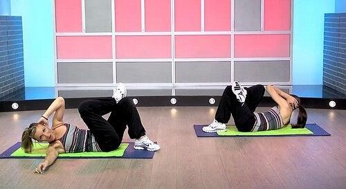 Ejercicios con estiramientos para mejorar la postura