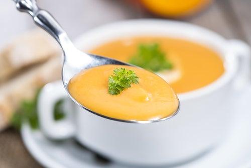 Deliciosa receta de papilla de coliflor, papa y calabaza