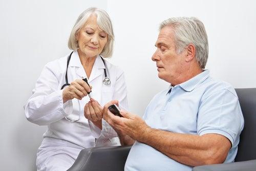 paciente con diabetes