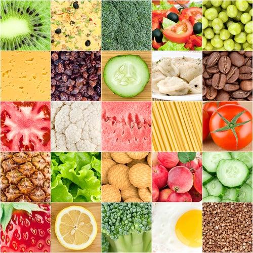 La dieta de los colores