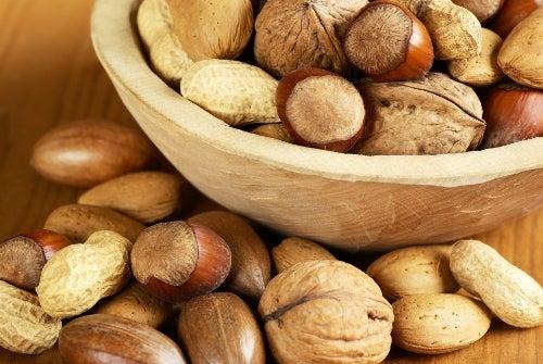 Frutos secos para aumentar de peso