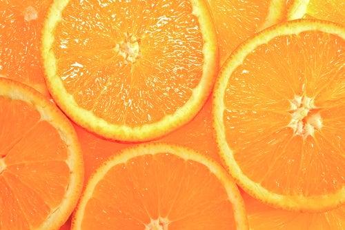 Naranjas, ricas en vitamina C.
