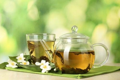 5 clases de té y sus beneficios para la salud