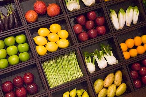 Dieta de colores de los siete dias