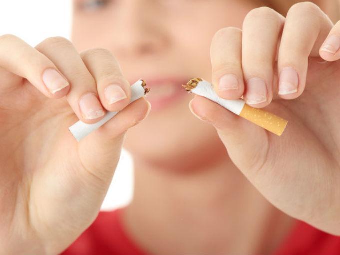 De los vellones empezando a dejar fumar
