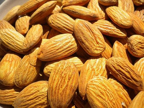 Almendras, uno de los mejores frutos secos