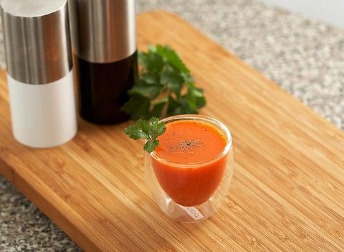 jugo de zanahoria Food Thinkers, eliminar toxinas