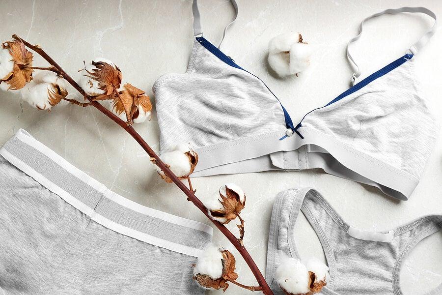 Ropa interior deportiva de algodón
