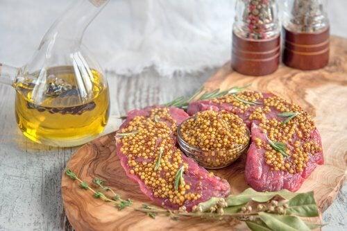 La carne de ternera es rica en vitaminas B.