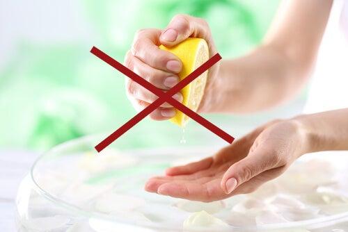 Productos que no debes utilizar para atenuar o eliminar cicatrices