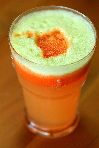zumo manzana zanahoria Will Merydith