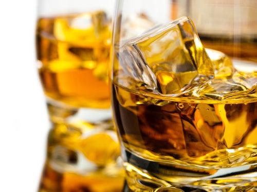 Copa de alcohol