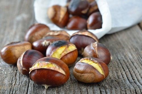 Las castañas, fruto seco con gran valor nutricional