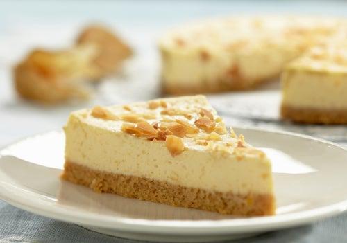 postres deliciosos sin gluten: tarta de queso