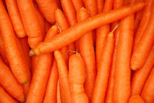 Zanahoria para dar brillo al cabello
