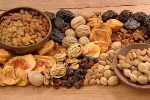 Nueces y otros alimentos ricos en hierro para aumentar la energía