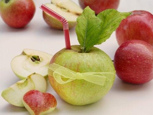 Remedios a base de manzana.