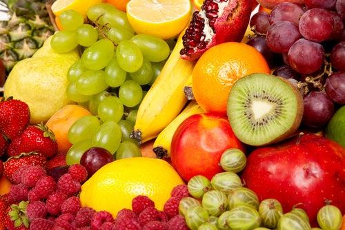 Qué nos aportan los alimentos según su color