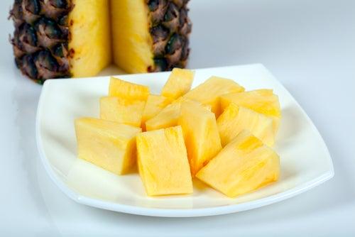 4 recetas bajas en calorías con piña natural