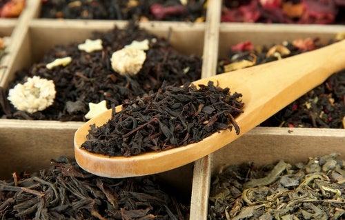 Trucos de belleza con té negro