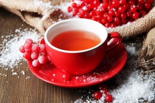 Disminuye el dolor menstrual con infusiones de Viburbum